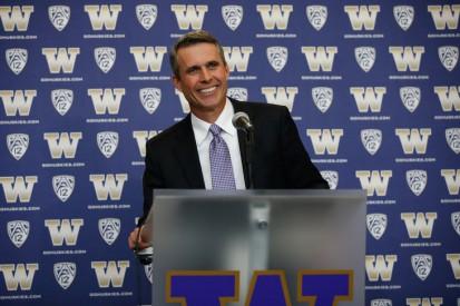University of Washington Introduces Chris Petersen