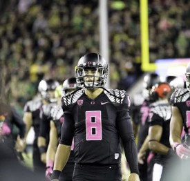 Mariota, Oregon vs. Arizona, 2014