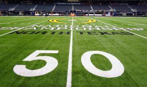 Natty 50 yard line