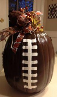 football-pumpkin